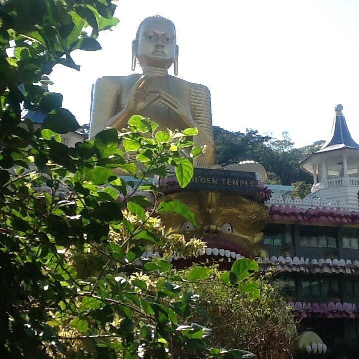 Budda w Damballa, Sri Lanka