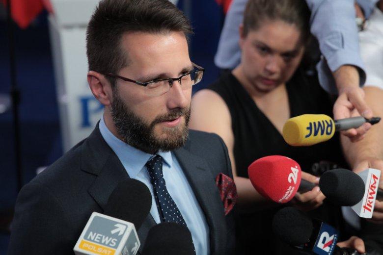 Radosław Fogiel po raz trzeci ubiega się o mandat posła. Startuje z drugiego miejsca na liście PiS w okręgu radomskim.