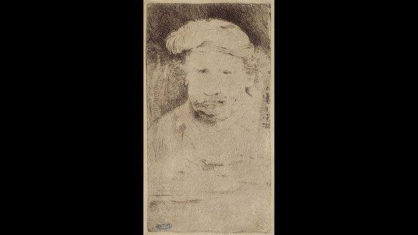 Rembrandt. Akwaforta na rok przed śmiercią (1658)