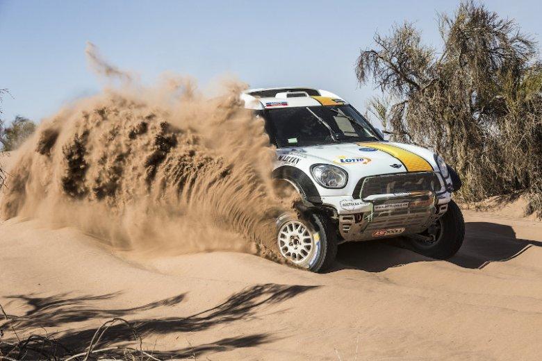 Samochód Martina Kaczmarskiego, w którym wystartował w 36. edycji Rajdu Dakar