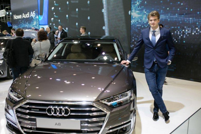 Kamil Łabanowicz jest stylistą Audi e-tron, którego dwa lata temu pokazano na poznańskim Motorshow.