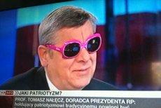 Prof. Tomasz Nałęcz, zwolennik radosnego patriotyzmu.