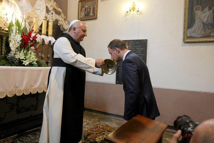Prezydent Andrzej Duda także manifestuje swoją religijność