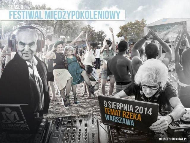 Plakat Festiwalu Międzypokoleniowego