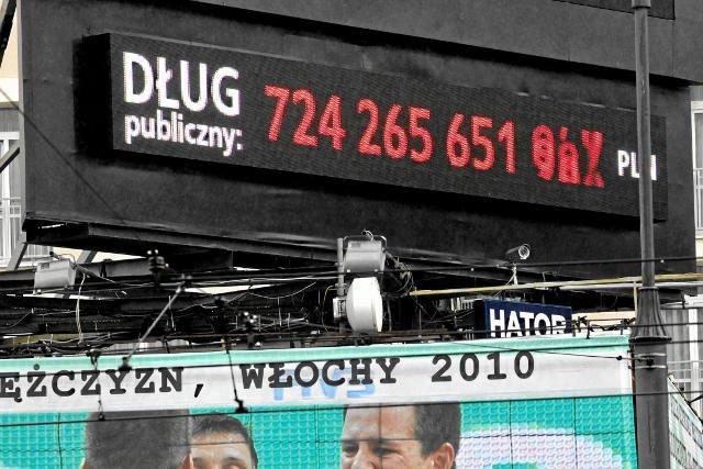 Ministerstwo Finansów podało najnowsze dane o zadłużeniu Skarbu Państwa.