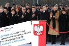 """I stało się. Suwerenna Polska """"nie żyje"""". Dwie literki, a jaka różnica."""