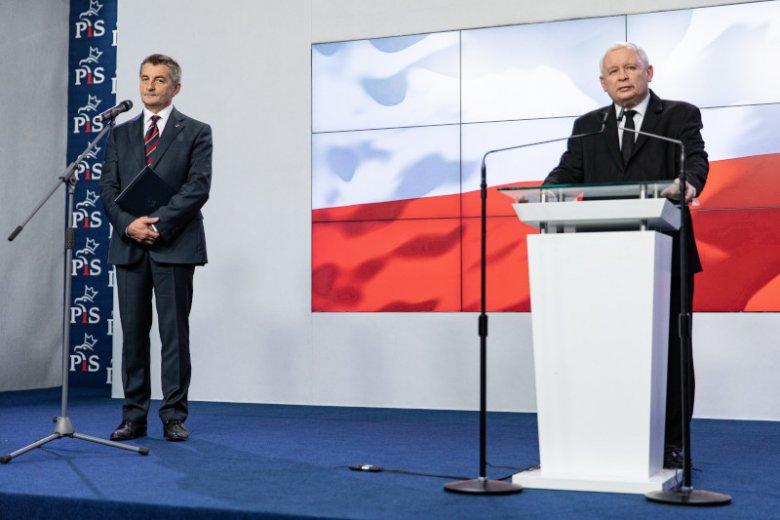 """Marek Kuchciński pozostanie """"jedynką"""" PiS na liście wyborczej w Krośnie."""
