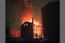 Pożar oficyny przy Inżynierskiej