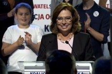 Małgorzata Kidawa-Błońska miałaby największe szanse w starciu z Andrzejem Dudą w 2020 roku.