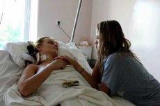 Beata Jałocha w szpitalu