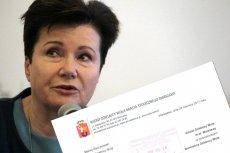 Hanna Gronkiewicz-Waltz zapowiedziała, że Warszawa może przyjąć uchodźców z Syrii.