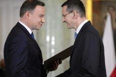Prezydent Duda powierzył dziś Morawieckiemu funkcję premiera.