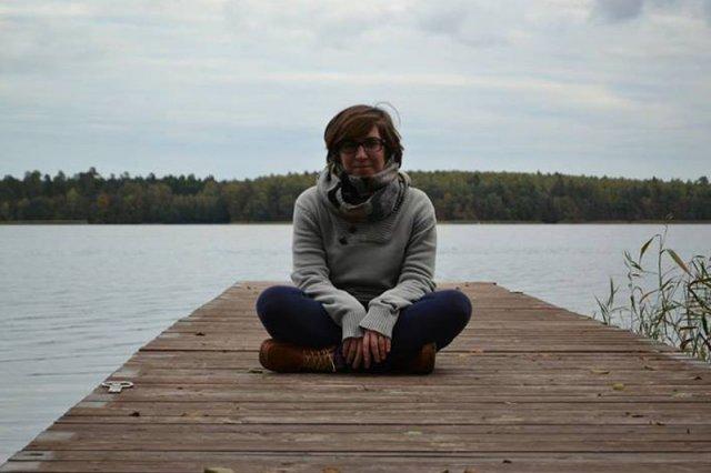 """""""Wiejska matka"""" ma radę dla mieszczuchów, którzy myślą stereotypowo: """"Zacznijcie myśleć"""" - na zdjęciu Joanna Jaskółka, autorka bloga """"Matka jest tylko jedna"""""""