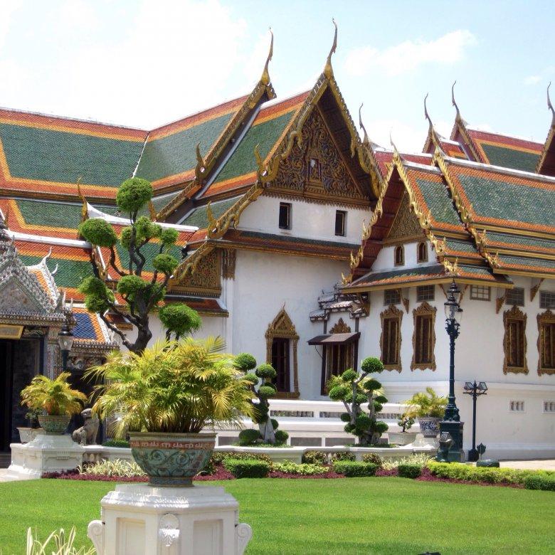 Dusit Maha Prasat. Pałac Królewski. Bangkok/Tajlandia