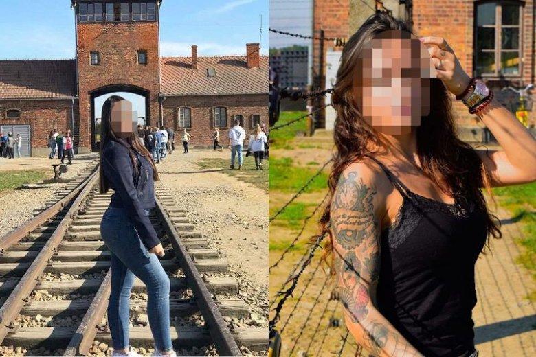 Tak, ludzie dalej pozują na tle obozu koncentracyjnego Auschwitz-Birkenau