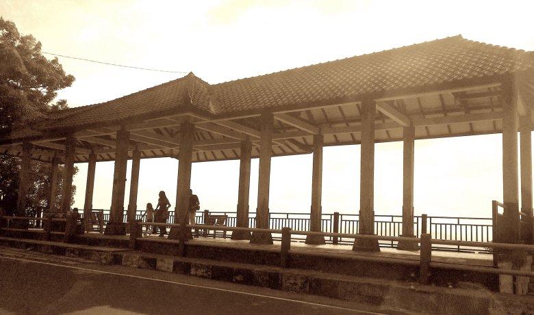 Jeden z wielu punktów widokowych na Lombok, 2016.