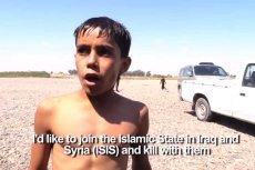 """""""Generacja kalifatu"""" – tak bojownicy ISIS nazywają dzieci, które szkolą na przyszłych dżihadystów i obrońców kalifatu"""