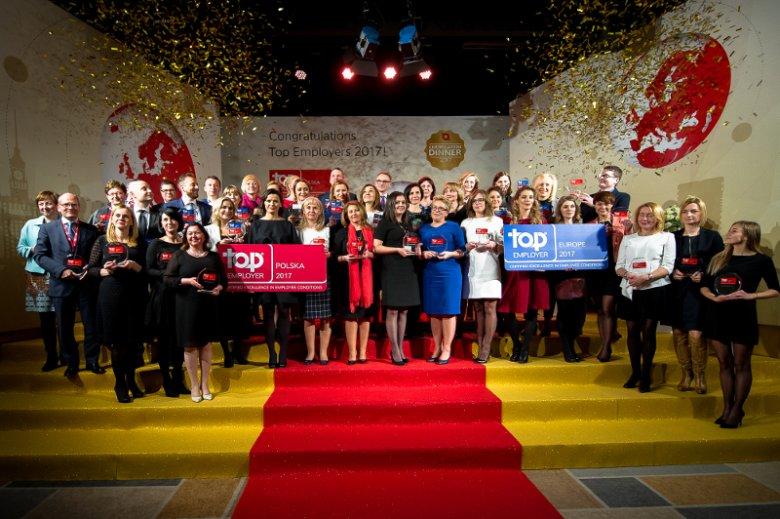 Pracodawcy wyróżnieni certyfikatem Top Employers Poland 2017