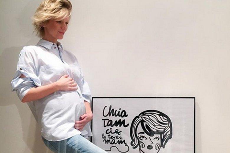Magda Mołek jest w ciąży. To będzie jej drugie dziecko.