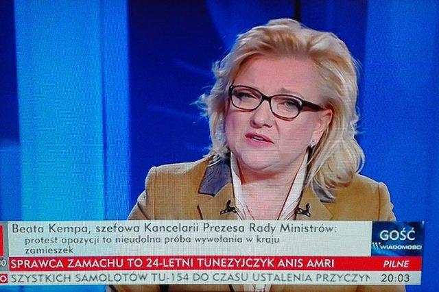 """Cała Polska się śmieje, a Kempa powtarza po Kaczyńskim: """"To był pucz"""""""