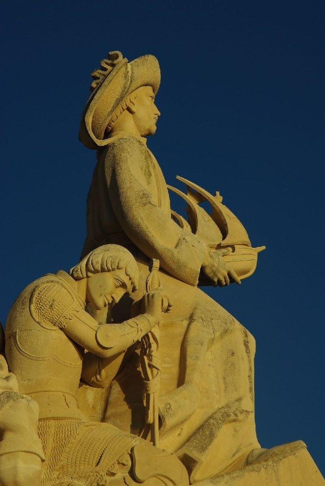 Pomnik Odkrywców, Lizbona. Zdjęcie: Krzysztof Gierak