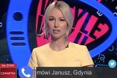 Magdalena Ogórek była zaskoczona, gdy okazało się, kim jest Janusz z Gdyni.