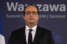 Prezydent Francji Francois Hollande odwołał wizytę w Polsce. To protest przeciw zerwaniu kontraktu na Caracale.