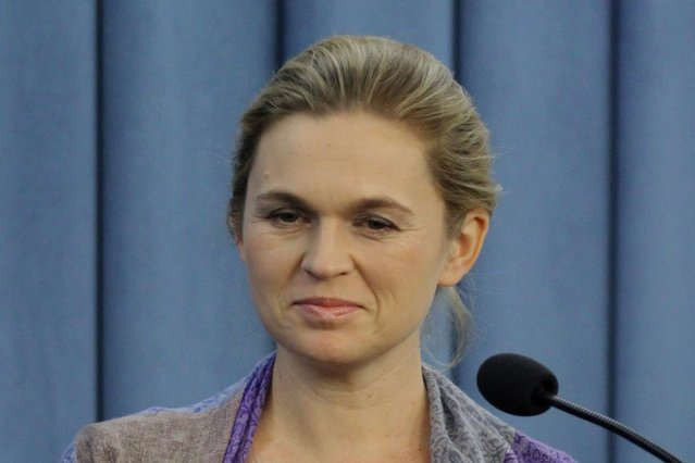 """Barbara Nowacka nazywana jest """"nową twarzą lewicy""""."""