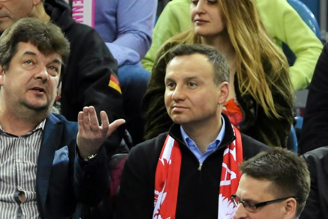 Kibice zaprzeczają, by to oni wygwizdali Andrzeja Dudę podczas meczy Pucharu Polski