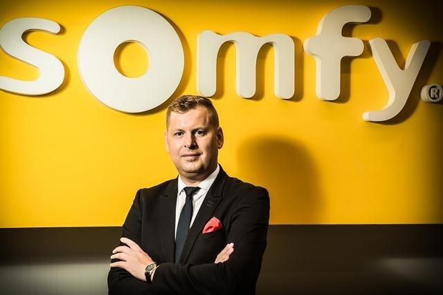 Radosław Borkowski, dyrektor zarządzający polskiego oddziału Somfy sp.z o.o.