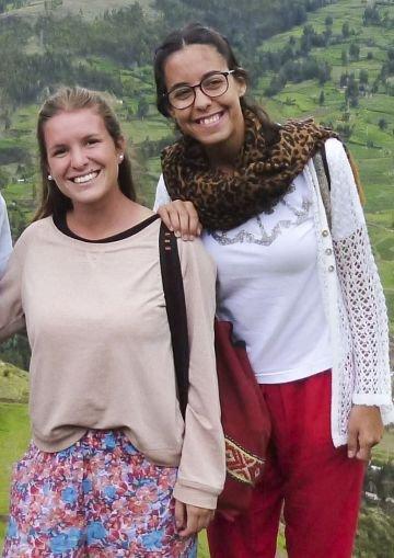Jedno ze zdjęć z podróży Mariny i Maríi