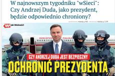 Środowisko braci Karnowskich martwi sięo bezpieczeństwo Andrzeja Dudy