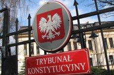 Konferencja w Trybunale Konstytucyjnym bez dziennikarzy mediów prywatnych.