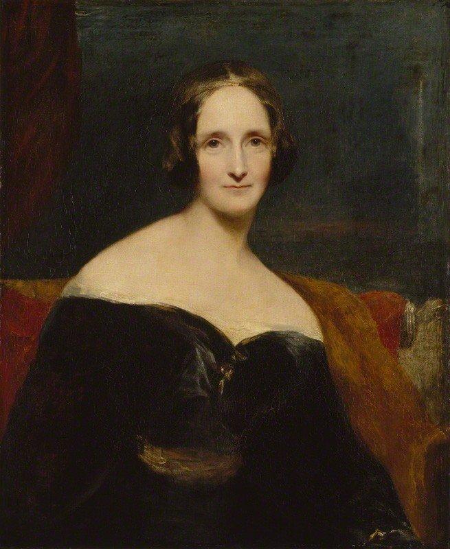 """Mary Shelley, autorka """"Frankensteina, czyli współczesnego Prometeusza"""" (1818)"""