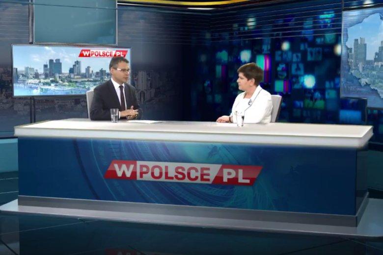Nowa telewizja wPolsce.pl na razie jest dostępna tylko w internecie.