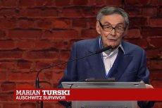Wystąpienie Mariana Turskiego w Oświęcimiu jest pokazywane przez zagraniczne media.