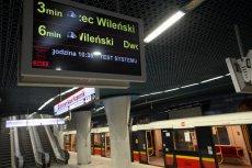 Zakłady bukmacherskie objęły termin otwarcia drugiej linii metra