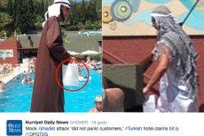 Inscenizacja zamachu terrorystycznego nie spodobała się wszystkim gościom hotelu
