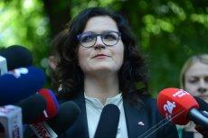 Aleksandra Dulkiewicz zabrała głos w sprawie zwolnień w kurii krakowskiej .