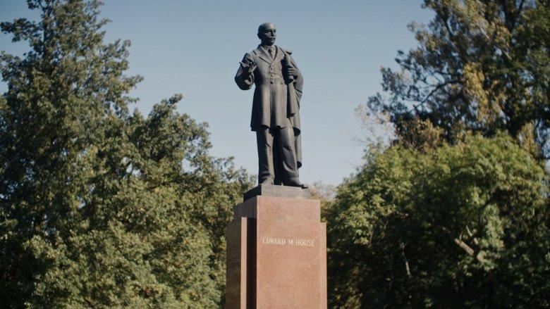 Pomnik House'a w Parku Skaryszewskim w Warszawie