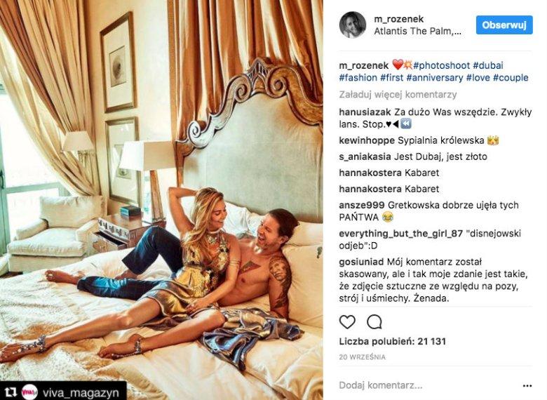 """""""Z przyjemnością wracamy do domu, kładziemy się na kanapie, bierzemy kocyk, przytulamy się do siebie"""" – Radosław Majdan w wywiadzie dla """"Vivy"""""""