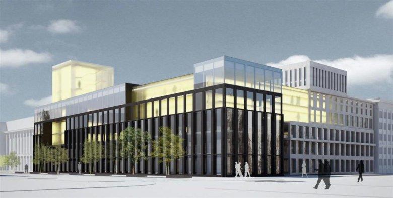 Przykład wielofunkcyjnego budynku na kampusie akademickim (Centrum Energetyki AGH)