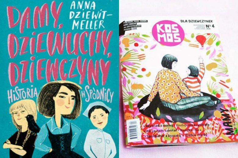 Polscy autorzy również chcą motywować dziewczynki, pokazując, że mogą być kim tylko chcą