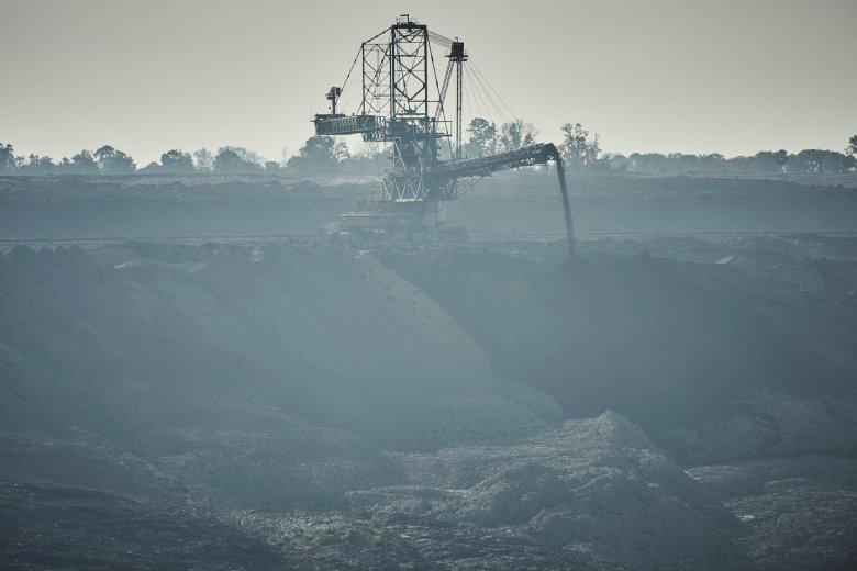 Kopalnia odkrywkowa węgla brunatnego