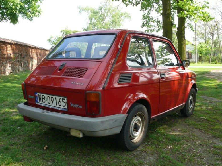 Fiat 126p - Happy End. To właśnie te modele, z ostatniej serii należą do najdroższych.