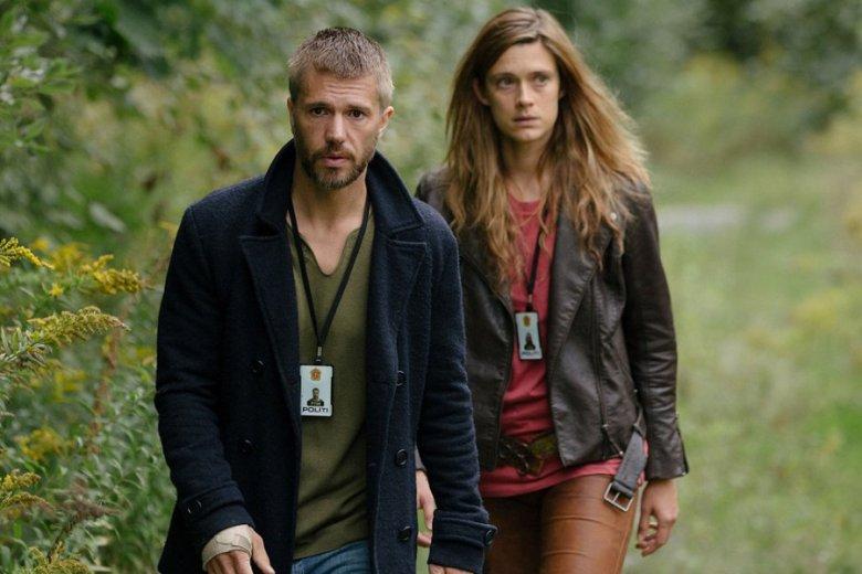 """""""Przybysze"""" to jedyny taki serial, w którym sprawy kryminalne rozwiązują wspólnie współczesny detektyw i wojowniczka z ery Wikingów"""