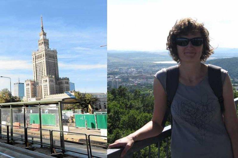 Pałac Kultury i Nauki w Warszawie oraz Jana Kępska – Czeszka mieszkająca w Polsce