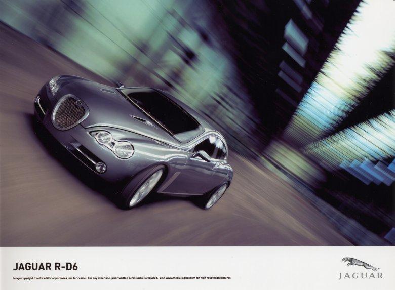 Prototyp Jaguar R-D6