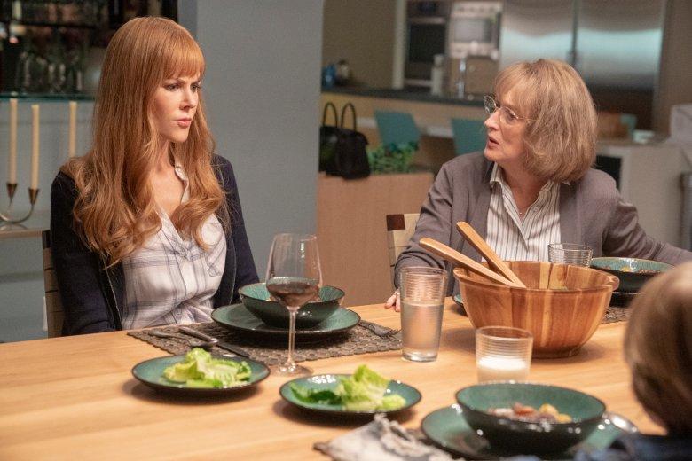 Do obsady drugiego sezonu dołączyła Meryl Streep. Gra Mary - teściową  Celeste (Nicole Kidman)