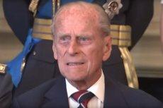 Książę Filip ma prawie 100 lat.